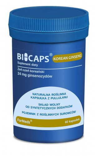BICAPS KOREAN GINSENG